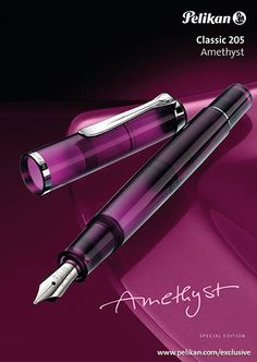 Pelikan Special Edition M205 Amethyst Fountain Pen