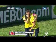 Colombia 3 Ecuador 1 - [Fecha 6] ELIMINATORIAS RUSIA 2018 - YouTube