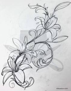 filigree lily