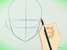 Imagem intitulada Draw Manga Faces in Basic Sketching Step 6