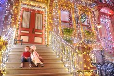 Visit Disney at Christmas and capture beautiful moments like this... ©Disney