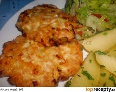 Sýrovo-kuřecí placičky