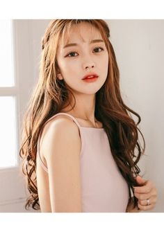 korean girl hair at DuckDuckGo Korean Beauty, Asian Beauty, Bora Lim, Style Japonais, Hair Reference, Asian Hair, Grunge Hair, Tips Belleza, Ulzzang Girl