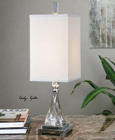 One Light Buffet Lamp