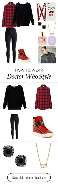 """""""T.O.P."""" by momomarsha on Polyvore featuring Uniqlo, Giuseppe Zanotti, Casetify, Sugar NY and Topshop"""