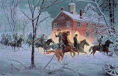 "shopcardinal.com - Mort Kunstler ""The Fairfax Raid"" Civil War Print Ltd Edition New COA 2165/2750, $399.95 (http://www.cardinalsellingservices.com/mort-kunstler-the-fairfax-raid-civil-war-print-ltd-edition-new-coa-2165-2750/)"