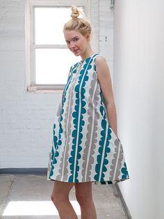 Lotta Jansdotter, Trapeze Dress, Choma Bermuda