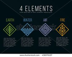 Find Nature 4 Elements Diamond Square Logo stock images in HD and millions of other royalty-free stock photos, illustrations and vectors in the Shutterstock collection. Thousands of new, high-quality pictures added every day. Nature Symbols, Element Symbols, Magic Symbols, Element Signs, Element Tattoo, Nature Tattoos, Body Art Tattoos, Tatoos, Mom Tattoos