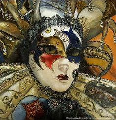 Venetian mask - fabulous detail