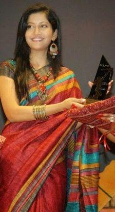 Odisha Saree Store: Famous Odia Film Actress Anu Choudhury Love to wea...