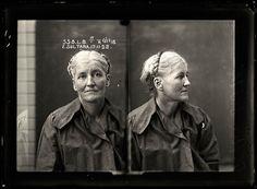 Vintage mugshot, Prostitution