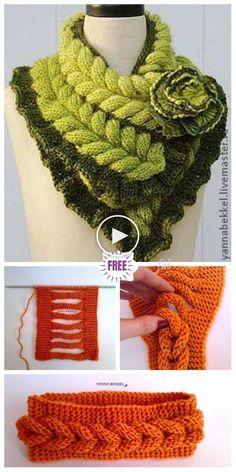 Knit Faux Braid Headband Free Knitting Pattern - Video - Knitting is . Knit Faux Braid Headband Free Knitting Pattern – Video – Knitting is as simple as 3 Knitt Knitting Patterns Free, Knit Patterns, Free Knitting, Baby Knitting, Free Crochet, Crochet Hats, Knitting Ideas, Crochet Coaster, Beginner Knitting