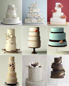 pasteles modernos | Repostería moderna: tortas de boda originales | Casamiento Perfecto