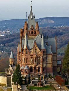 Schloss Drachenburg (Drachenburg Castle) Königswinter on the Rhine near Bonn, Germany