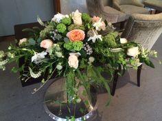 Top Table arrangement for wedding