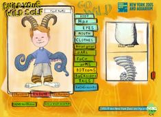 """Build Your Wild Self- FREE website where kids use different animal parts to create a """"wild self"""" After using the website my class wrote a journal about their wild self."""