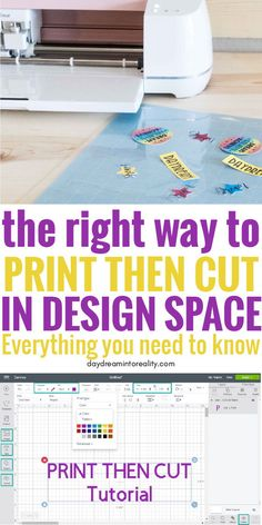 Learn - Whether you have Maker or Explore - how to Print and Cut images with your Cricut. Today you are going to learn - whether you have Maker or Explore How To Use Cricut, Cricut Help, Cricut Explore Projects, Cricut Explore Air, Cricut Air 2, Cricut Vinyl, Cricut Stencils, Cricut Print And Cut, Ipad