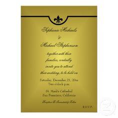 39 best fleur de lis wedding invitations images on pinterest fleur de lis wedding invitation stopboris Gallery