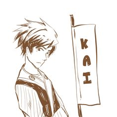 Kai by chanchala-t.deviantart.com on @deviantART