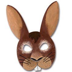 #Hasenkostüm, Faschingskostüm    Ist diese Faschingsmaske nicht süß? Die Hasenmaske kannst du ganz einfach nachbasteln:http://www.trendmarkt24.de/kindermasken-hase-6er-pack.html#p