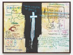 Jean-Michel Basquiat, Job Analisis, 1983, acrylic and oil stick on canvas. TOM POWELL IMAGING/©THE ESTATE OF JEAN-MICHEL BASQUIAT, LICENSED BY ARTESTAR, NEW YORK/PRIVATE COLLECTION