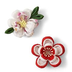 小さくても本格派。愛らしい「一輪咲き」で、つまみ細工デビュー。 小さな一輪に個性がキラリ つまみ細工の花図鑑の会
