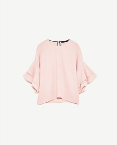 Image 8 of FRILLED TOP from Zara