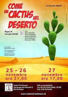 """Claudia Grohovaz: """"Come un cactus nel deserto"""" scritto e diretto da ..."""