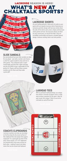 Spring, and more importantly, lacrosse season are here! Stock up on some of our latest gifts for lax to ensure an amazing season!