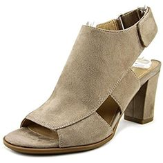 Lucky Peep-Toe Canvas Bootie * Learn more by visiting the image link. (This is an affiliate link) #AnkleBootie