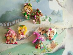 Fairy Princess House by HachiClay on Etsy