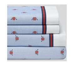 Tommy Hilfiger Signature Logo Extra Long Adult Twin Sheet Set (3 Piece) Fits College Dorm Room Beds.... (... click on picture...)