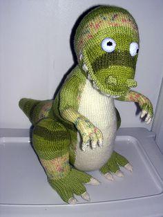 Green dinosaurs
