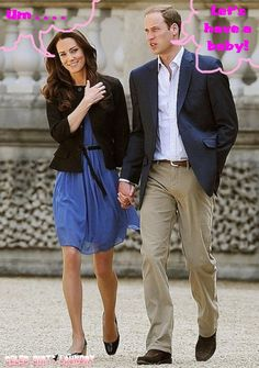 Prince William Wants A Baby From Kate Middleton Now!