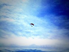 I jumped out of a plane today.