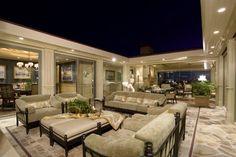 Irvine Terrace traditional patio