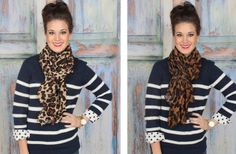 GroopDealz | Leopard Print Scarves Only $9.00!!
