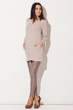 http://modneniebo.pl/pl/klasyczna-bezowa-tunika-sukienka-mini.html