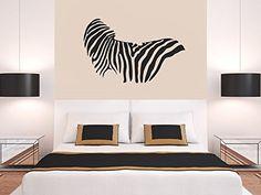 Vinyl Wall Decal Sticker Bedroom Zebra Pattern Damask Animal Skin Living Room R1653 CreativeWallDecals http://www.amazon.com/dp/B00V4WJ8GK/ref=cm_sw_r_pi_dp_X7Kevb0GKSMM2