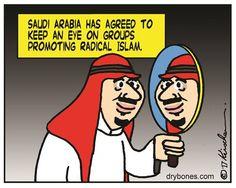 Editorial & Political Cartoons   Yaakov Kirshen, The Jerusalem Post   Saudi Arabia has agreed to keep an eye on groups promoting radical islam