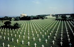 American Cemetery and Memorial - Normandy, France - May we never forget their sacrifice