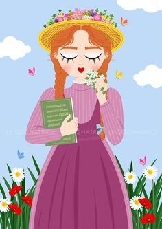 Anne Of Green Gables, Anne Green, Tomorrow Is A New Day, Anne With An E, Princess Peach, Disney Princess, Anne Shirley, Child Face, Illustrators
