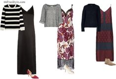 7 different ways to wear a slip dress this fall   40plusstyle.com