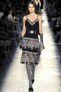 Chanel Haute Couture Fall 2012 collection.