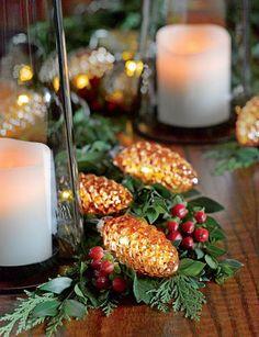 Mini Pinecone String Lights Add Vintage-Inspired Sparkle