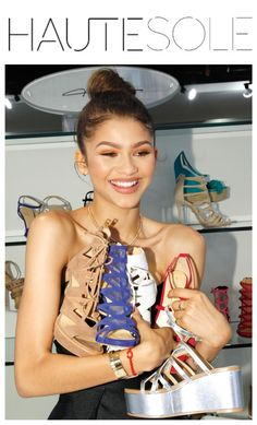 Fabulous  Zendaya launched her shoe line, Daya, with partner Titan Industries.  ✨✨✨✨✨✨✨✨✨✨✨✨✨✨✨ #HAUTESOLE #Fashion #Footwear #Shoes #style #stylish #sneakers #design #Stylist #instagood #designer #Fashiondesigner #FashionStylist #WardrobeStylist #CelebrityWardrobeStylist #Fashionista #StreetStyle #FashionWeek #PFW #NYFW #luxury #fashionista #fashionblogger #magazine #DREAMFEARLESSLY #SS16 #zendaya