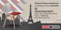 SCAB DESIGN is waiting for you @ Maison & Objet - Paris January 18/22