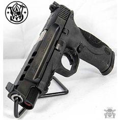 Manufacturer: Smith &Wesson Mod. M&P9L Pro Series Type - Tipo: Pistol Caliber - Calibre: 9 mm Capacity - Capacidade: 17+1 Barrel length - Comp.Cano: 5 Weight - Peso: 26.0...