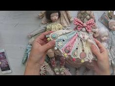Куклы и платья - YouTube Bjd, Crochet Doll Pattern, Art Dolls, Sculpting, Doll Clothes, Polymer Clay, Barbie, Christmas Ornaments, Holiday Decor