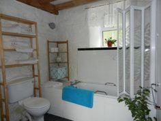 Cottage 4 bathroom Pine Dresser, Double Room, Vanity Units, Two Bedroom, Dining Area, Basin, Ladder Decor, Bathtub, Cottage